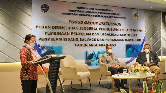 Kemenhub Gelar FGD Pembinaan Penyelam, Salah Satunya Lewat Legalisasi Sertifikat Penyelam