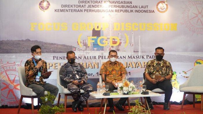 Kemenhub Gelar FGD Penetapan Alur Pelayaran Masuk Pelabuhan Biak Papua