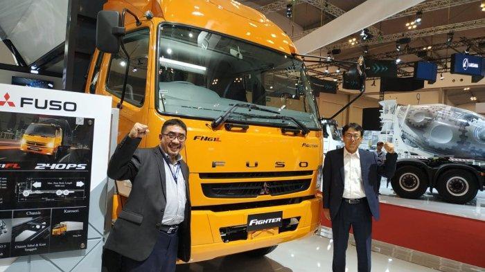 Tujuh Hari Pameran GIIAS 2019, Mitsubishi Fuso Raih 1.101 SPK Kendaraan