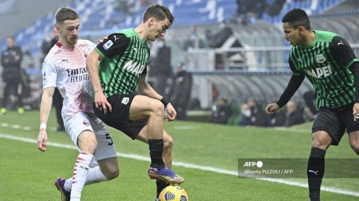 Hasil Liga Italia - AC Milan Kalah di Kandang, Alexis Saelemaekers Salahkan Dewi Fortuna