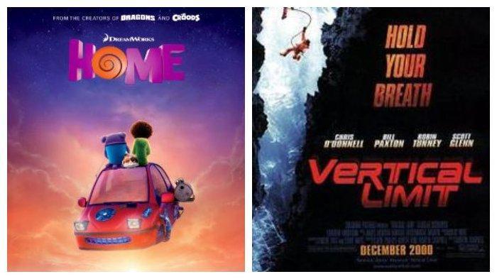 Jadwal Acara TV Sabtu, 22 Februari 2020: Film Animasi Home di GTV, Film Vertical Limit di TransTV