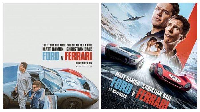 Film Ford V Ferrari Tayang Di Bioskop Indonesia 15 November 2019 Ada Matt Damon Christian Bale Halaman All Tribunnews Com