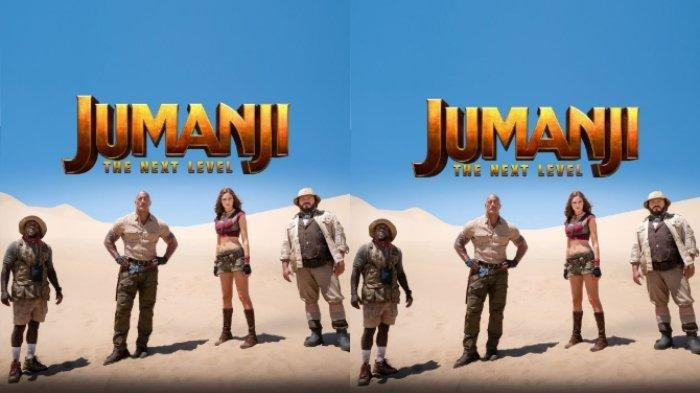 Film Jumanji: The Next Level akan tayang pada (13/12/2019) (instagram.com/@jumanjimovie)