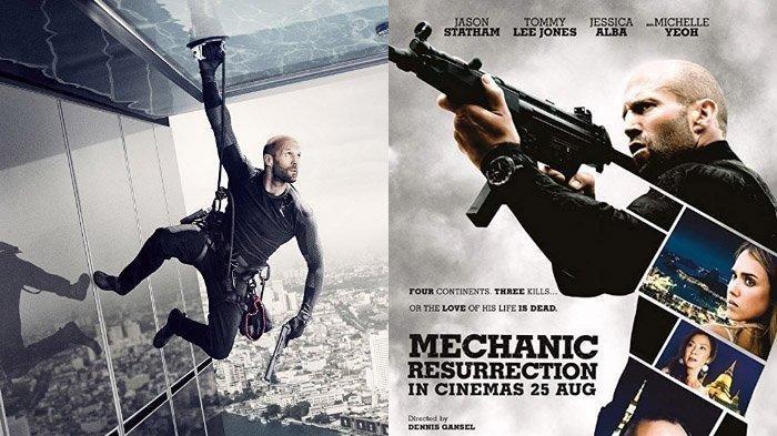 Sinopsis Film Mechanic: Resurrection, Aksi Jason Statham dan Jessica Alba Malam Ini