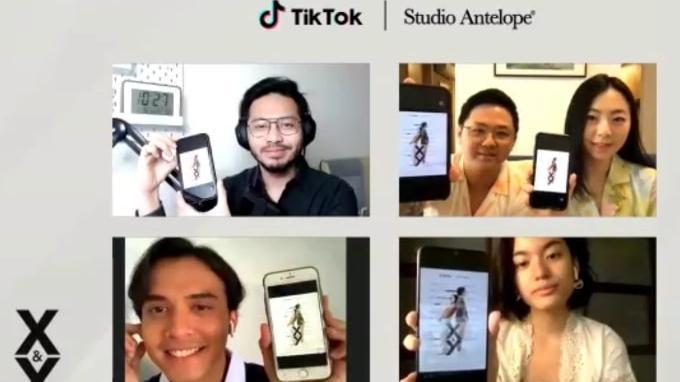 Jumpa Pers virtual Peluncuran Film Pendek Vertikal