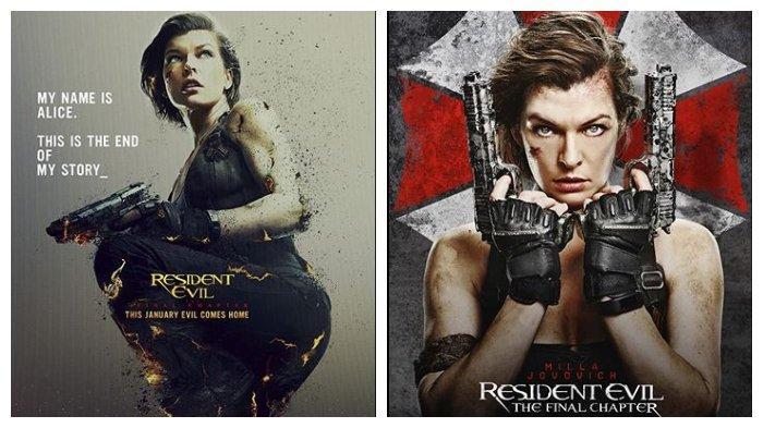 Film Resident Evil: The Final Chapter tayang di Bioskop TransTV, Kamis (26/3/2020).