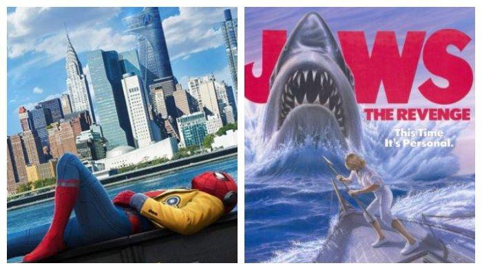 Jadwal Acara TV Sabtu 7 Maret 2020: Film Spider Man: Homecoming di Trans TV, Jaws The Revenge di GTV