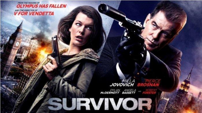 Sinopsis Film Survivor, Aksi Milla Jovovich vs Pierce Brosnan, Tayang Malam Ini di Bioskop Trans TV