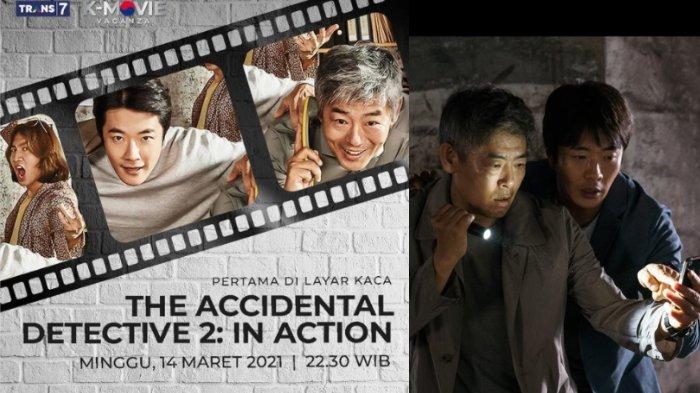 Sinopsis Film The Accidental Detective 2: In Action, Tayang Malam Ini di K-Movievaganza Trans 7