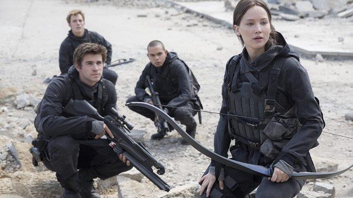 Sinopsis Film The Hunger Games: Mockingjay Part 2, Aksi Jennifer Lawrence Malam Ini