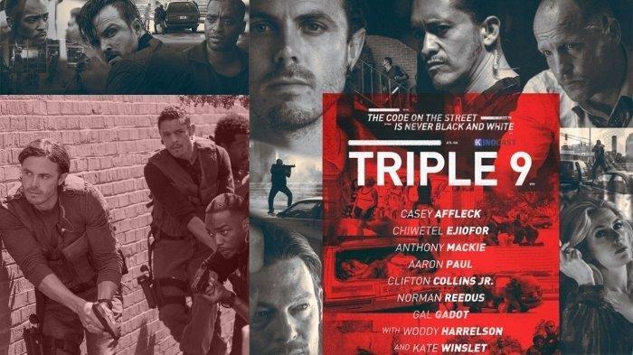 Sinopsis Film Triple 9, Aksi Pencurian oleh Polisi Korup, Tayang Malam ini di TransTV