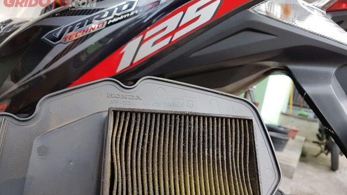 Filter udara penyebab motor tarikanya tersendat