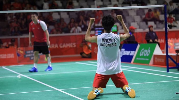Sedang Berlangsung Live Streaming Final Ganda Campuran Indonesia VS Thailand Asian Para Games 2018
