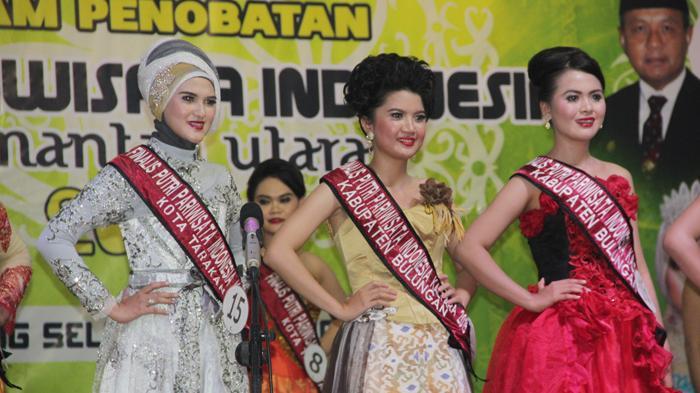 Kemeriahan Pemilihan Putri Pariwisata Kaltara 2015