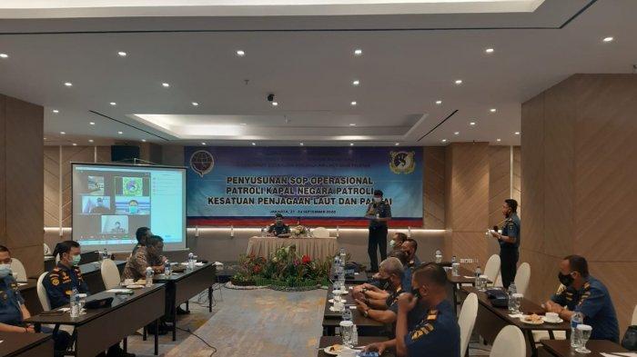 Tegakkan Supremasi Hukum di Laut, Ditjen Hubla Finalisasi SOP Kapal Negara Patroli KPLP