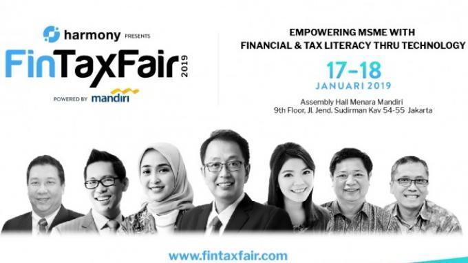 Fintax Fair 2019 Ajak Siapapun Makin Cerdas Finansial, Perpajakan dan Teknologi
