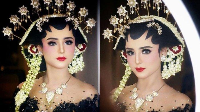 Jadi Model Rias Pengantin, Gadis Cantik Asal Jakarta Ini Dapat Honor Fantastis!
