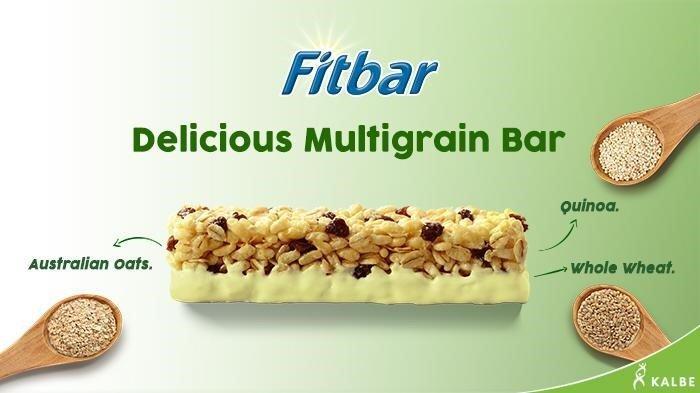 Fitbar, snack sehat bebas kolesterol.