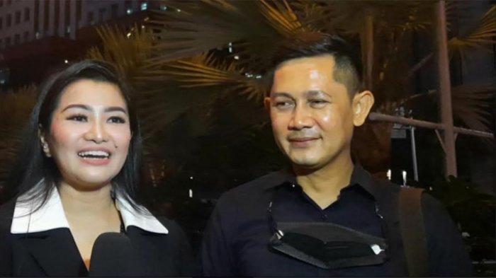Fitri Carlina ketika ditemui disela-sela peluncuran single perdana Allan Hant, di Hard Rock Cafe SCBD, Jakarta Selatan, Minggu (28/2/2021) petang.