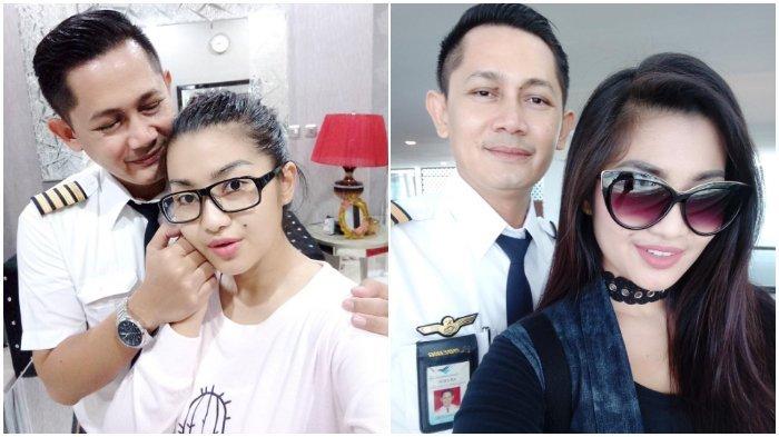 Fitri Carlina dan sang suami Hendra Sumendap.