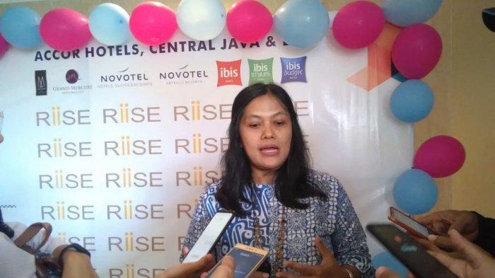 Aktivis perempuan dari Solidaritas Perempuan untuk Kemanusiaan dan Hak Asasi Manusia (SPEK-HAM), Fitri Haryani.