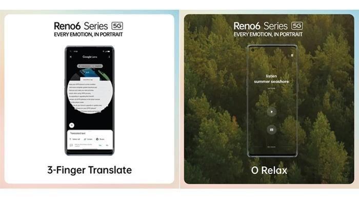 Fitur 3 Finger Translate dan O Relax milik OPPO