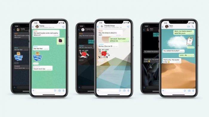 Fitur baru WhatsApp, bisa buat wallpaper chat berbeda untuk setiap kontak.