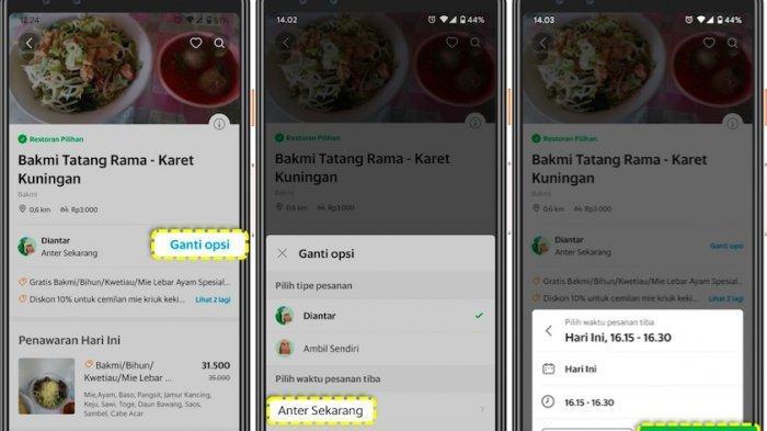 Grabfood Kenalkan Lagi Fitur Pesanan Berjadwal, Hindari Kelamaan Mengantre di Jam Sibuk