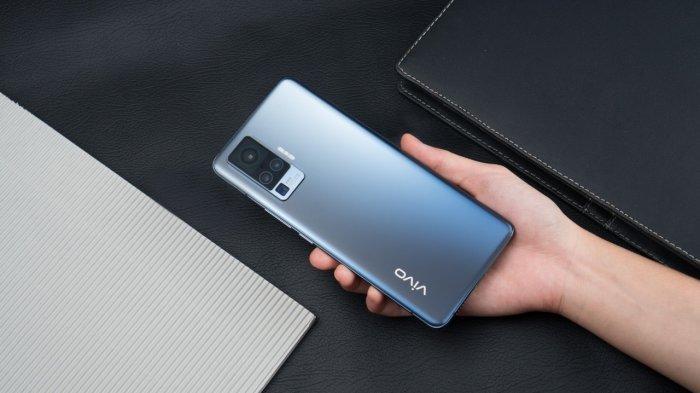 Flagship smartphone Vivo X50 yang segera meluncur di Indonesia dalam waktu dekat.