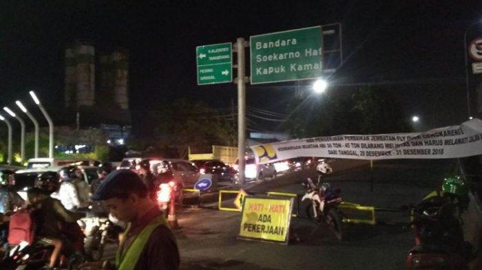Flyover Arah Kembangan Menuju Cengkareng Ditutup Hingga 31 Desember