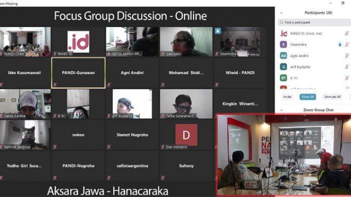 PANDI Kantongi Lampu Hijau Pemerintah, Lanjutkan Pendaftaran Domain Aksara Jawa Ke ICANN