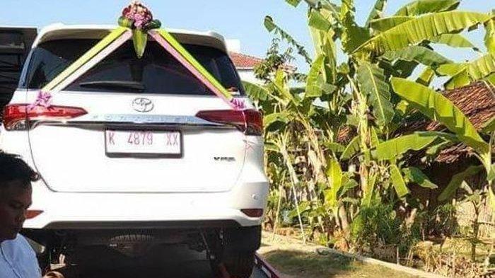 Ujok Budianto asal Desa Winong Beri Mahar Kawin Mobil Fortuner