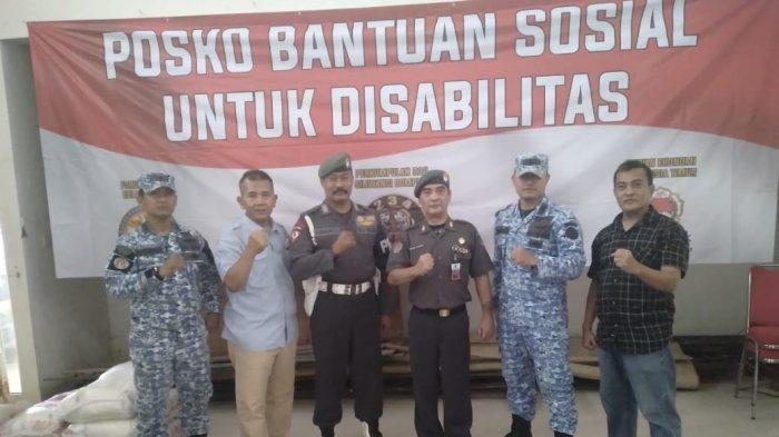 Forum Kader Bela Negara Ajak Bank Sahabat Sampoerna Beri Bansos ke Panti Penyandang Disabilitas