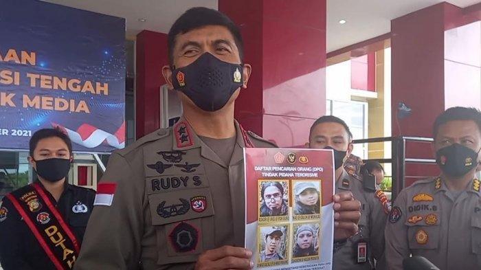 Kapolda Sulteng Sebut 4 DPO Teroris Poso Masih Punya Kekuatan Persenjataan Lengkap