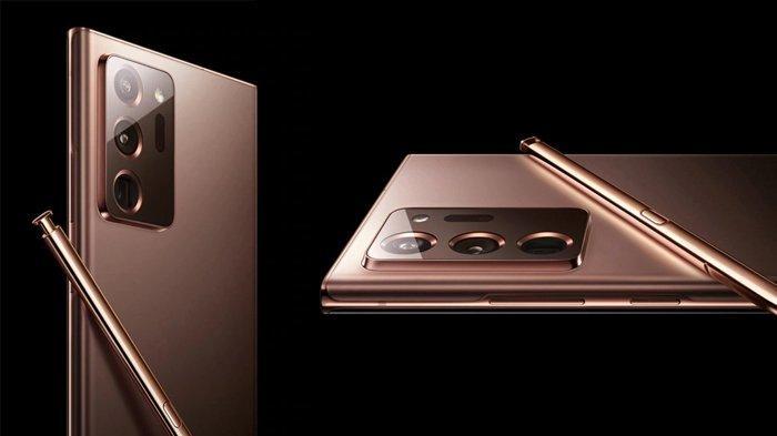 Foto Fisik Samsung Galaxy Note 20