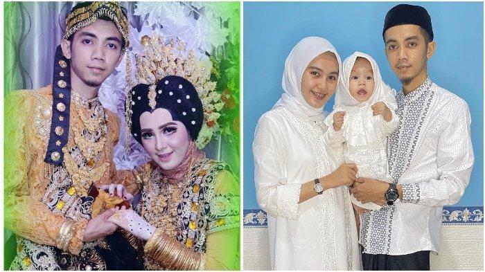 Foto-foto saat Jamal dan Ayu menikah hingga memiliki anak.