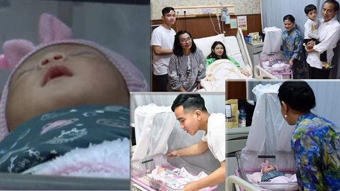 Foto-foto La Lembah Manah, cucu ketiga Jokowi, putri Gibran dan Selvi