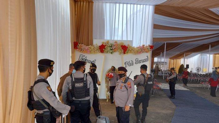 Resepsi Pernikahan UAS Digelar di UNIDA Gontor Hari Ini dengan Prokes Ketat