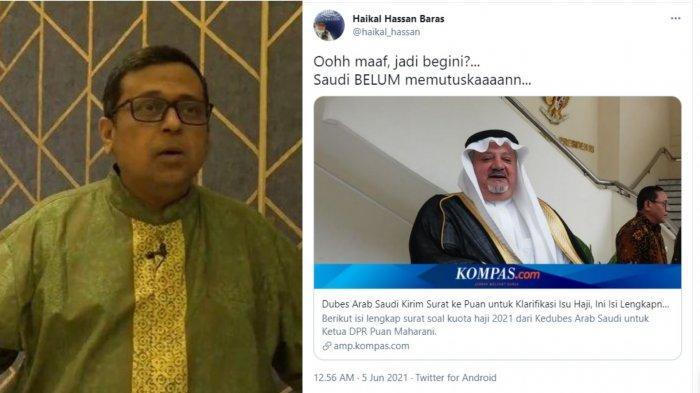 Tanggapi Ucapan Maaf Haikal Hassan Usai Kritik Soal Haji, Cyber Indonesia: Maaf Tak Hapus Perbuatan