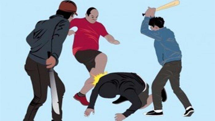 Mau Berdamai, Tiga Pemuda Ini Malah Diserang Oleh 8 Pemuda Lainnya Hingga Babak Belur