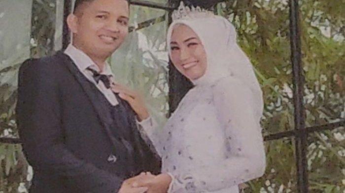 Foto Indah Halimah Putri dan suaminya Muhammad Rizky Wahyudi saat menikah tahun 2018 lalu. Keduanya bersama anak dan keluarganya menjadi korban kecelakaan Sriwijaya Air SJ-182. Terbaru, jenazah Indah teridentifikasi Tim DVI Polri pada Rabu (13/1/2021) sore bersama penumpang lain atas nama Agus Minarni.