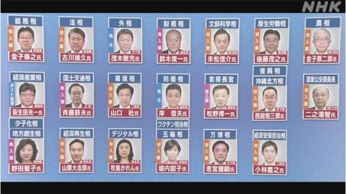 Hari Ini Fumio Kishida Lantik Kabinet Baru Jepang, Siapa Saja yang Masuk Jajaran Menteri?