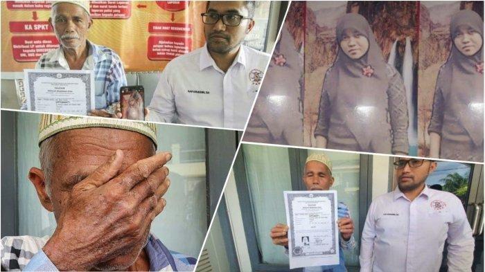 Gadis Asal Aceh Hilang 5 Tahun, Diduga Korban Perdagangan di Malaysia, sang Ayah Terisak Menangis