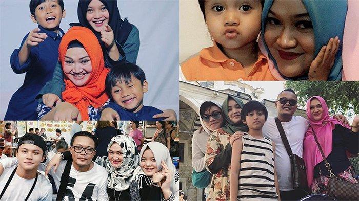 Momen Kebersamaan Almarhumah Lina mantan sstri Sule bersama Anak-anaknya