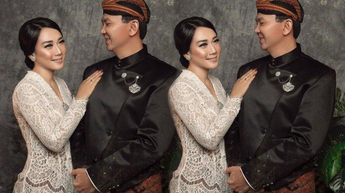 Beredar foto pernikahan Puput dan Ahok