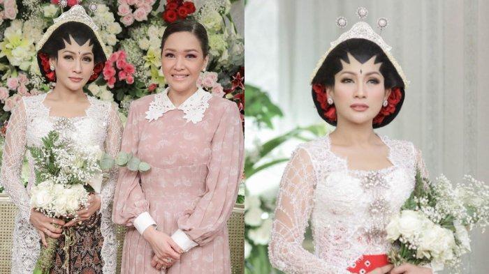 Berikut kumpulan foto pernikahan Tata Janeeta, pakai adat Jawa hingga dihadiri oleh Maia Estianty.