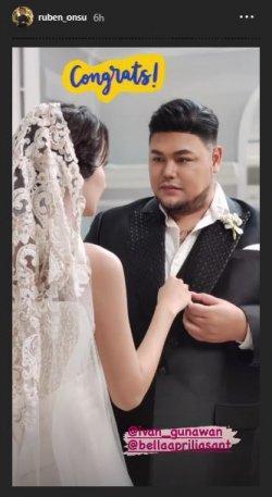 foto prewedding Ivan Gunawan dengan Bella Aprilia