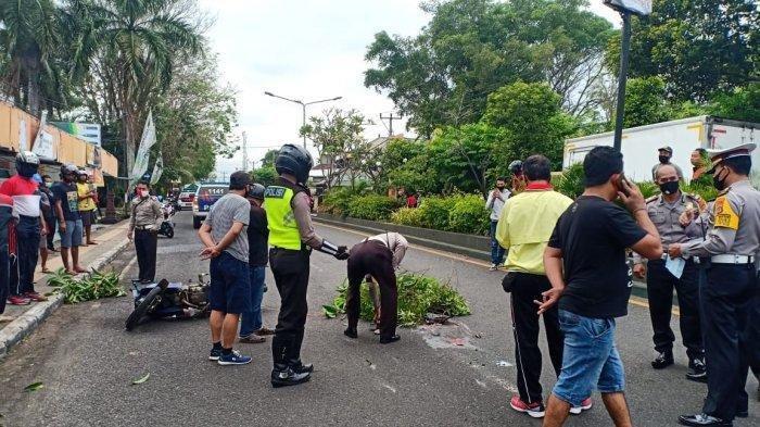 Pria di Bali Oleng setelah Lindas Batu Beton, Terjatuh hingga Tergilas Truk, Korban Tewas di Tempat