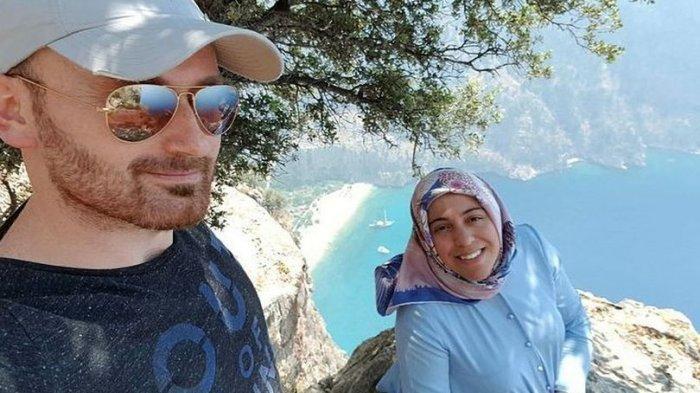 Foto terakhir Hakan Aysal dan istrinya