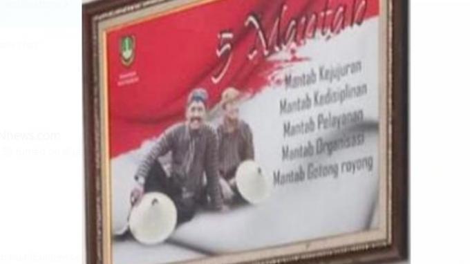 Kritik Suhendra,Hampir 4 Bulan Pergantian Wali Kota Surakarta, Foto Belum Diganti